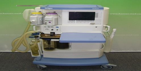 Dräger Julian anaesthesia equipment